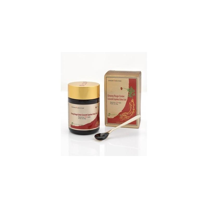 Ginseng Rouge Coréen concentré Extra Gold - 150mg de saponines