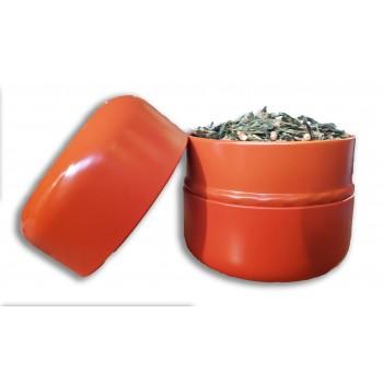 Boîte thé orange