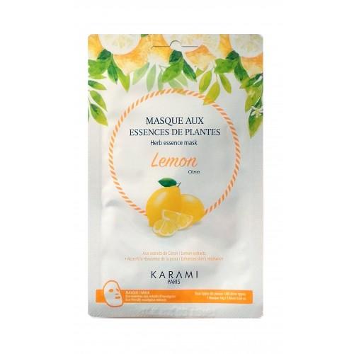 Masque visage (en tissu) Lemon