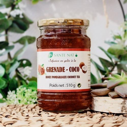 Infusion en gelée Grenade-Coco 510g