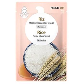 Masque coréen visageau RIZ  (en tissu)