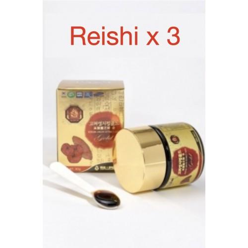 3 X REISHI COREEN SUPERIEUR 30 g