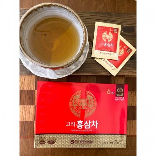 Thé au ginseng rouge de Corée